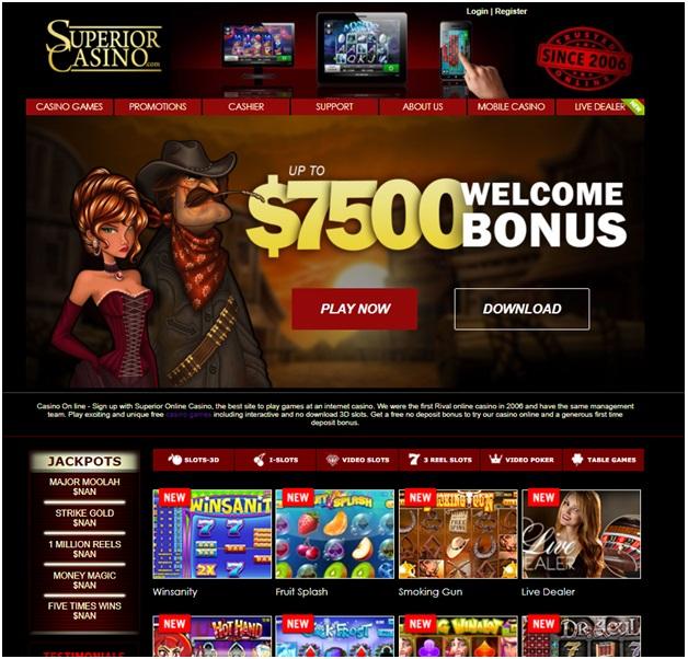 Online casino Bitcoin withdrawal- Superior casino