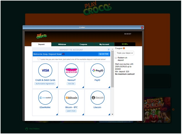 Online casino instant bitcoin withdrawal